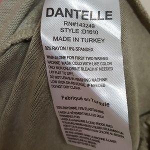 Dantelle Tops - Dantelle Peplum Top